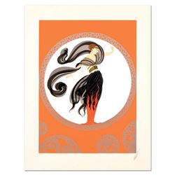 "Erte (1892-1990), ""Flames of Love"" Limited Edition Serigraph from an AP Edition, Hand Signed with Ce"