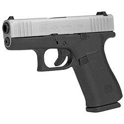 Glock, 43X, Semi-automatic Pistol, Striker Fired, Sub-Compact, 9MM