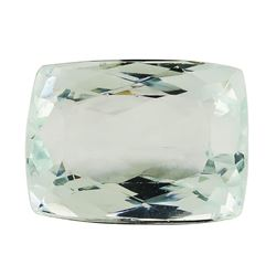 6.84 ct.Natural Rectangle Cushion Cut Aquamarine
