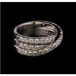 14KT White Gold 2.74 ctw Diamond Ring