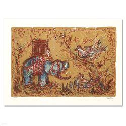 Elephant Parade by Hibel (1917-2014)