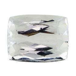 7.29 ct.Natural Rectangle Cushion Cut Aquamarine