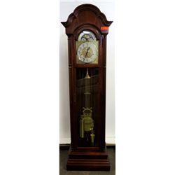 Tall Howard Miller Grandfather Clock w/ Swing Pendulum