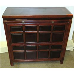 Kuang Hsu Period Mulberry/Rosewood/Pine Ningbo Chest, Circa 1875 (Includes Certificate)