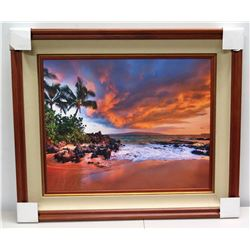 """Hidden Cove"" by Randy J. Braun, Photographic Image on Canvas, Deluxe Frame"