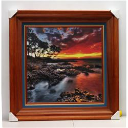 Maluaka Glow  by Randy J. Braun, Photographic Image on Canvas, Deluxe Frame