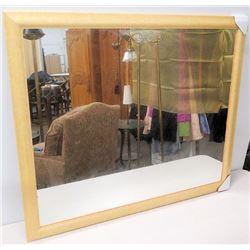 "New Wood Framed Wall Mirror 46"" x 40"""