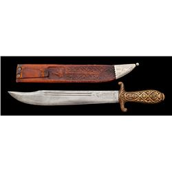 Collins No. 18 Bowie/Machete in Sheath