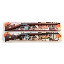 Set of ''NRA Centennial'' Commem. Winchester 94 Lever Action Rifle  Musket