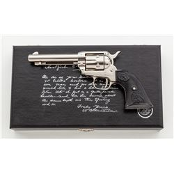 Cased Colt Lawman Series Bat Masterson Revolver