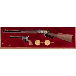 Winchester-Colt Two-Gun Commem. Set