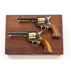 Pair of Great Western Arms Frontier Six-Shooter Single Action Army Revolvers