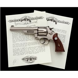 S& W Registered Magnum Double Action Revolver