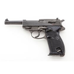WWII Two-Tone German P.38 Semi-Auto Pistol