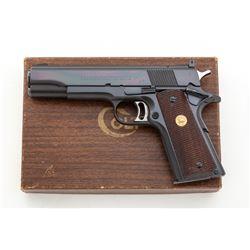 Early Colt Pre-Series 70 National Match Semi-Auto Pistol
