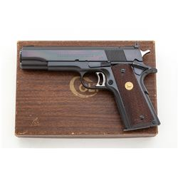 Early Colt Pre-Series 70 National Match Semi-Auto Pistol