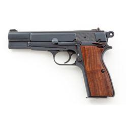 Customized Browning Hi-Power Semi-Auto Pistol