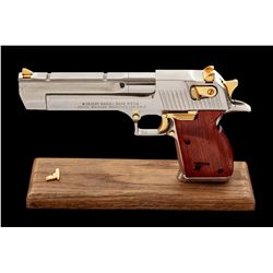 Gold/Nickel Israeli Desert Eagle Pistol