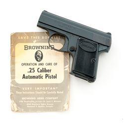 Browning ''Baby'' Semi-Automatic Pistol