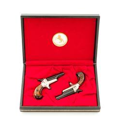Cased Colt Lord Derringer Set