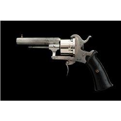 European Double Action Pinfire Revolver
