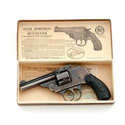 Iver Johnson Safety Hammerless Top-Break Revolver