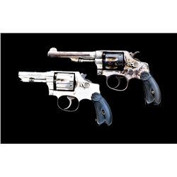 Lot of 2 S& W .32 Hand Ejector DA Revolvers