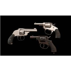 Lot of 3 Double Action Pocket Revolvers