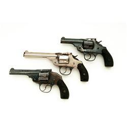 Lot of 3 20th C. Iver Johnson Revolvers