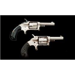 Lot of 2 American 19th C. Rimfire Revolvers