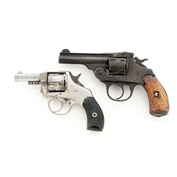 Lot of 2 American Double Action Pocket Revolvers
