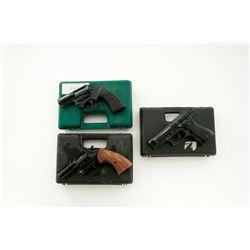 Lot of Three (3) Italian Starter/Prop Pistols