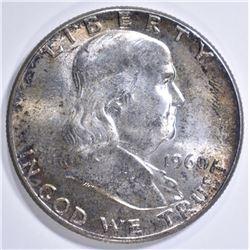 1960 FRANKLIIN HALF DOLLAR  GEM BU