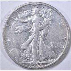 1933-S WALKING LIBERTY HALF DOLLAR  XF