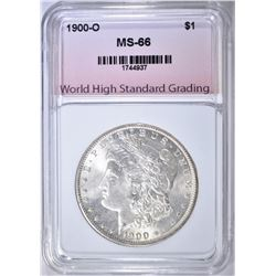 1900-O MORGAN DOLLAR WHSG SUPERB GEM