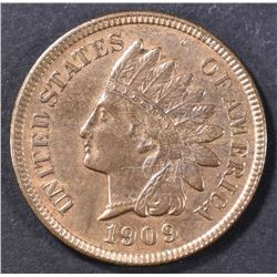 1909-S INDIAN HEAD CENT  CH UNC