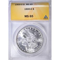 1900-O MORGAN DOLLAR ANACS MS-65