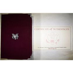 1996 U.S. PRESTIGE PROOF SET ORIG PACKAGING