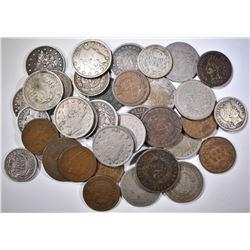 38 MIXED US COINS LOT