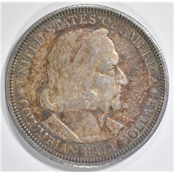 1892 COLUMBIAN COMMEM HALF DOLLAR  CH BU