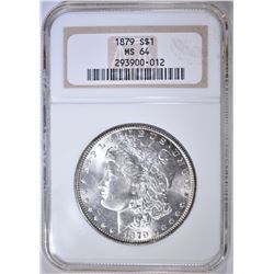 1879 MORGAN DOLLAR NGC MS-64