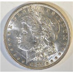 1891-O MORGAN DOLLAR CH AU