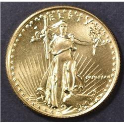 1986 BU 1/4 oz GOLD EAGLE