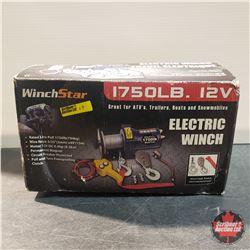 WinchStar 1750lb 12v ATV Winch