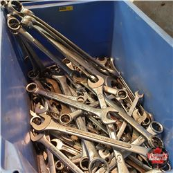 Tote Lot : Large Variety SAE Wrenches