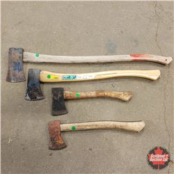Axe/Hatchet Grouping (4)