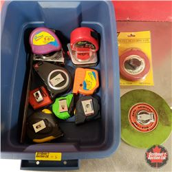 Tote Lot: Variety Tape Measures (13)