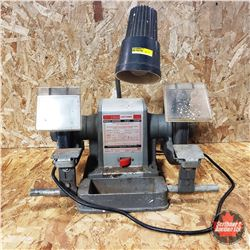 Craftsman 3/4hp Bench Grinder w/Attached Light