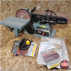 "Delta 4"" Belt / 6""Disc Sander (with extra Discs)"