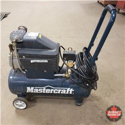 Mastercraft Air Compressor 8 Gallon (w/Hose & Blow Gun)